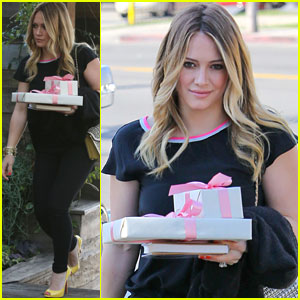 Hilary Duff: Baby Shower with Sister Haylie