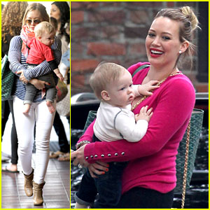 Hilary Duff: 'Fuschia is My Color Today'!