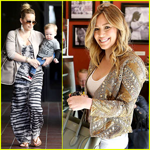 Hilary Duff: I Lost 30 Pounds After Giving Birth!