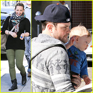 Hilary Duff & Mike Comrie: Breakfast with Family!