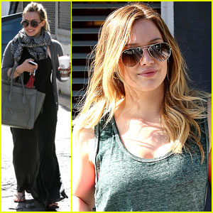 Hilary Duff: Post-Pilates Pretty!