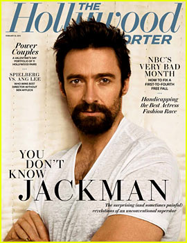 Hugh Jackman Covers 'The Hollywood Reporter'