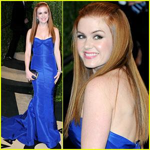 Isla Fisher - Vanity Fair Oscars Party 2013