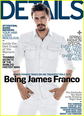 James Franco Covers 'Details' March 2013