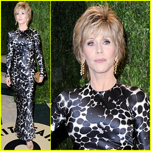 Jane Fonda - Vanity Fair Oscars Party 2013