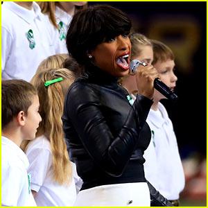Jennifer Hudson: Super Bowl 2013's 'America the Beautiful' (Video)