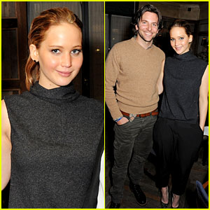 Jennifer Lawrence & Bradley Cooper: 'Silver Linings' Dinner!