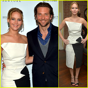 Jennifer Lawrence & Bradley Cooper: Vanity Fair Pre-Oscars Party 2013