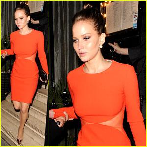 Jennifer Lawrence: Nozomi Dinner in London!