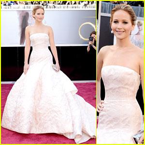 Jennifer Lawrence - Oscars 2013 Red Carpet