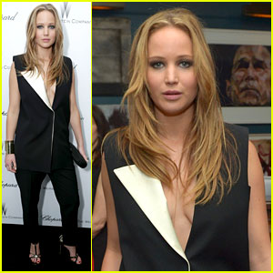 Jennifer Lawrence: Weinstein Pre-Oscars Party 2013!