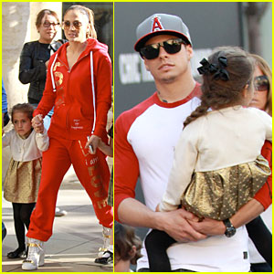 Jennifer Lopez: Happy Birthday Emme & Max!