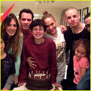 Jennifer Lopez & Marc Anthony: Birthday Party with Casper Smart!
