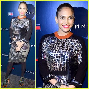 Jennifer Lopez: Store Opening Events with Casper Smart!