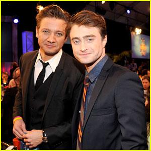 Jeremy Renner & Daniel Radcliffe - Independent Spirit Awards 2013