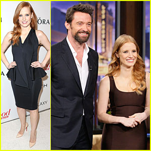 Jessica Chastain & Hugh Jackman: 'Tonight Show' Guests!