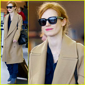 Jessica Chastain Thanks Fans For Support During Awards Season