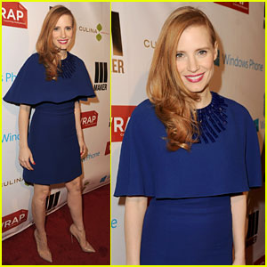 Jessica Chastain: The Wrap's Pre-Oscars Party 2013