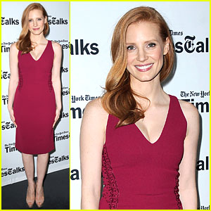 Jessica Chastain: Times Talks Appearance!