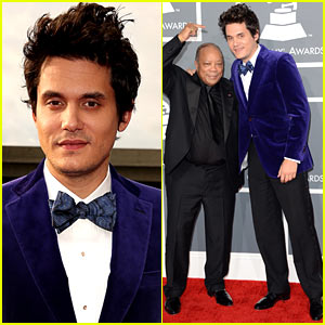 John Mayer - Grammys 2013 Red Carpet