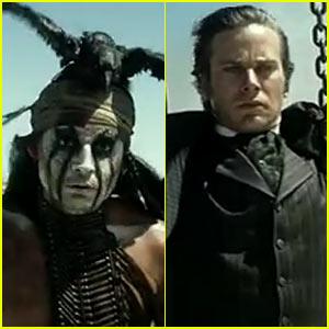 Johnny Depp & Armie Hammer: 'Lone Ranger' Super Bowl Trailer! (Video)