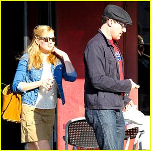 Jon Hamm & Jennifer Westfeldt: Valentine's Day Lunch Date!
