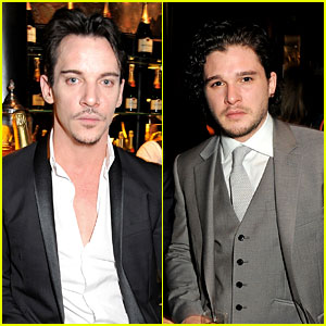 Jonathan Rhys-Meyers & Kit Harington: Pre-BAFTAs Party!
