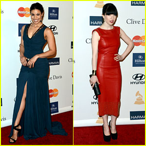 Jordin Sparks &#038; Carly Rae Jepsen - Clive Davis Pre-Grammy Gala 2013