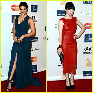 Jordin Sparks & Carly Rae Jepsen - Clive Davis Pre-Grammy Gala 2013