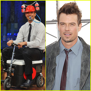 Josh Duhamel: Cooler Races on 'Fallon'!