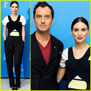 Rooney Mara & Jude Law: 'Side Effects' Berlin Photo Call!