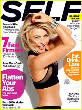 Julianne Hough Covers 'Self' March 2013