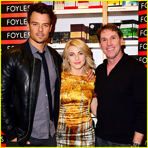 Julianne Hough & Josh Duhamel: 'Safe Haven' Book Signing!