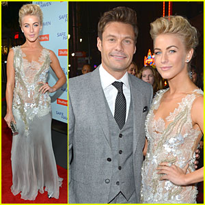 Julianne Hough & Ryan Seacrest: 'Safe Haven' Hollywood Premiere!