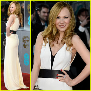 Juno Temple - BAFTAs 2013 Red Carpet