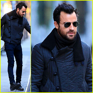 Justin Theroux: Monday Morning Meeting Man!