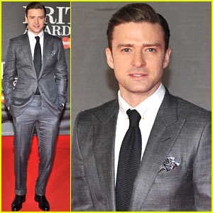 Justin Timberlake - BRIT Awards 2013 Red Carpet