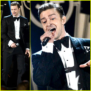 Justin Timberlake: Grammys 2013 Performance - WATCH NOW!