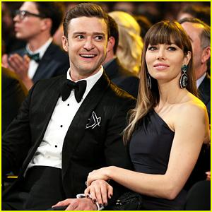 Justin Timberlake & Jessica Biel - Grammys 2013 Lovers!