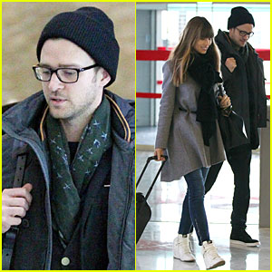 Justin Timberlake & Jessica Biel: Paris Departing Couple!