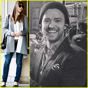 Justin Timberlake Joins Instagram, Jessica Biel Dines with a Pal