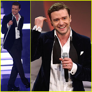 Justin Timberlake Performs 'Mirrors' Live on 'Wetten dass'!