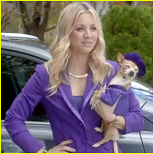 Kaley Cuoco: Toyota Super Bowl Commercial - Watch Now!