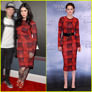 Kat Von D & Kristen Stewart: '10 Crosby Derek Lam' Dress Twins!