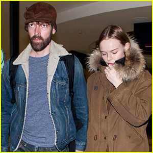 Kate Bosworth: LAX Arrivial with Michael Polish!