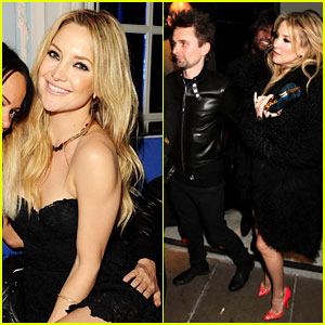 Kate Hudson: BRIT Awards After Party with Matthew Bellamy!