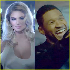 Kate Upton & Usher: Mercedes-Benz Super Bowl Commercial!