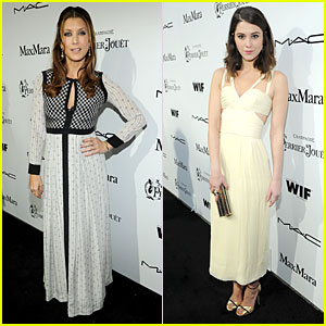 Kate Walsh & Mary Elizabeth Winstead: Women in Film Pre-Oscar Cocktail Party