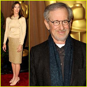 Kathryn Bigelow & Steven Spielberg - Oscar Noms Luncheon