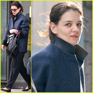 Katie Holmes: Morning Workout After Suri Dropoff!